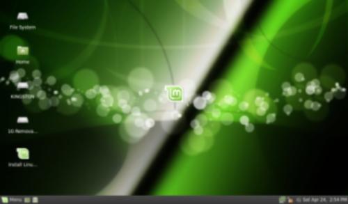 Bureau LinuxMint