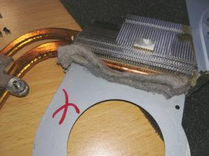radiateur portable bouchée